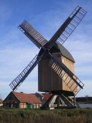 Bockwindmühle in Grieben