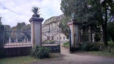 Eingang Stadtpark Tangerhütte