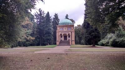 Mausoleum im Stadtpark
