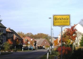 Dorfansicht von Birkholz