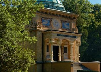 Mausoleum im Stadtpark Tangerhütte