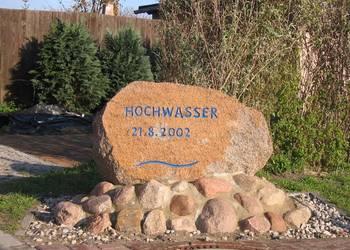 Gedenkstein in Demker
