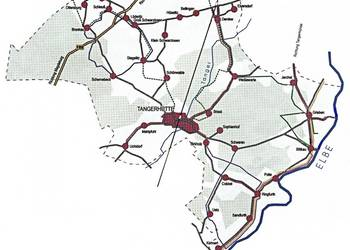 Überblick über die Lage unserer Ortschaften